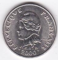Polynésie Française. 10 Francs 2000 En Nickel - French Polynesia