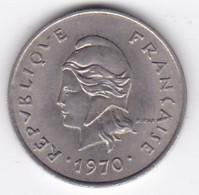 Nouvelle-Calédonie. 10 Francs 1970. En Nickel - New Caledonia