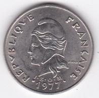 Polynésie Française. 20 Francs 1977,  En Nickel - French Polynesia
