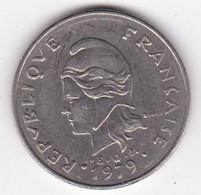 Polynésie Française. 20 Francs 1979,  En Nickel - French Polynesia