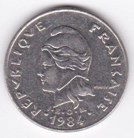 Polynésie Française. 20 Francs 1984,  En Nickel - French Polynesia