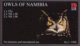 Namibia 937/41 Markenheftchen ** - Namibia (1990- ...)