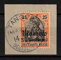 Deutsche Post Marokko 38 O - Kantoren In Marokko