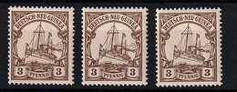 Deutsch-Neuguinea 7 ** (3x) - Kolonie: Duits Nieuw-Guinea