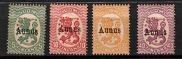 Finnland Aunus 1/4 * Geprüft Schwenson - Unused Stamps