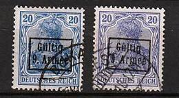9. Armee 3 O 2 Farben - Besetzungen 1914-18
