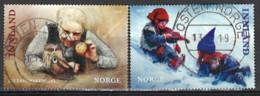 Norwegen Norway 2019. Mi.Nr. 2011-2012, Used O - Usati