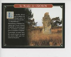 """Le Menhir De Crozon """"La Républicaine"""" Détruit En 1944 Par Les Allemands Et Reconstitué (histoire Militaria) - Dolmen & Menhirs"""