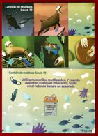 España. Spain. 2021. Gestión De Residuos COVID-19 - 2011-... Nuevos & Fijasellos