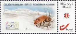 Buzin Versie 2 Rode Vos SPAB  Duostamps Mystamps - Personalisierte Briefmarken