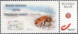Buzin Versie 3 Rode Vos SPAB  Duostamps Mystamps - Personalisierte Briefmarken
