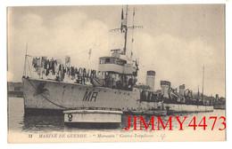 """CPA - Le """" Marocain """" Contre-Torpilleur - MARINE DE GUERRE - N° 31 - L L - Imp. Lévy Et Neurdein Paris - Warships"""