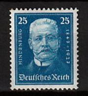 Deutsches Reich 405 * - Ungebraucht