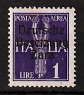 Zara 9 * - Besetzungen 1938-45