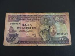 Ethiopie 100 Birr 1991 - Ethiopia