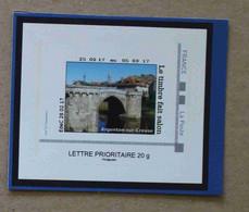 P3-E5 : Salon International De L'Agriculture 2017  - Pont Argenton-sur-Creuse (autocollant / Autoadhésif) - Gepersonaliseerde Postzegels