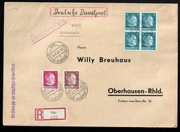 Dienstpost Ostland Beleg - Occupation 1938-45