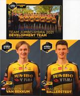 Cyclisme, Serie Jumbo Visma Development 2021, Sous Blister - Cycling