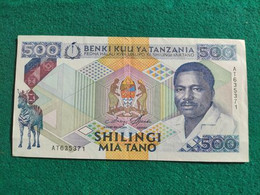 Tanzania 500 Shillings 1989 - Tanzania