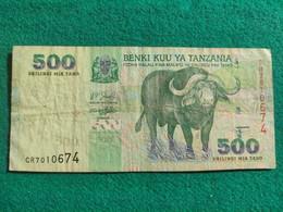 Tanzania 500 Shillings 2003 - Tanzania