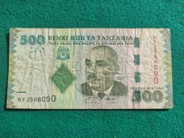 Tanzania 500 Shillings 2010 - Tanzania