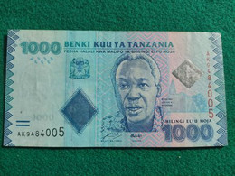 Tanzania 1000 Shillings 2010 - Tanzania