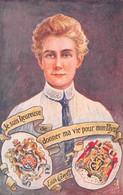 Angleterre - Norfolk - Edith CAVELL, Infirmière Britannique Née à SWARDESTON - Illustrateur C. SANTINI - Other