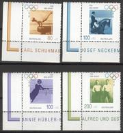 BRD 1861/64 Eckrand ** Postfrisch - Nuovi
