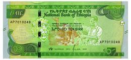 ETHIOPIA 10 BIRR 2020 Pick New Unc - Ethiopia