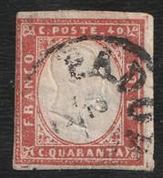 Rare Timbre Sardaigne 40c - Sardegna