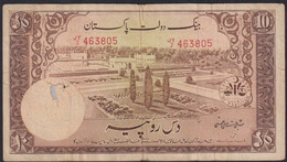 Ref. 2255-2678 - BIN PAKISTAN . 1953. PAKISTAN 10 RUPEES 1953 - Pakistan