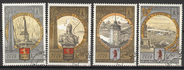 Sowjetunion 4810/13 O Olympia Moskau 1980 - Used Stamps