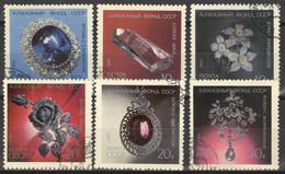 Sowjetunion 3950/55 O Diamanten-Fond - Gebraucht
