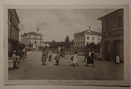 """TREVISO (VIAGGIATA 1917) """"UN SALUTO DAL CUOR"""" (ALBERGO) - ANIMATA - Treviso"""