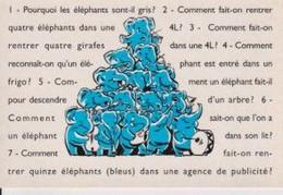 PUBLICIS ETOILES Pourquoi Les éléphants Sont-il Gris ? Etc ... - Reclame
