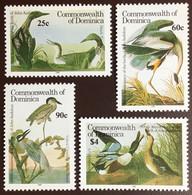 Dominica 1986 Audubon Birds MNH - Unclassified