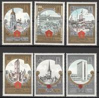 Sowjetunion 4949/54 ** Postfrisch Olympia Moskau 1980 - Nuevos
