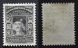Terre Neuve  NEWFOUNDLAND 1897 Yvert 61 Neuf* - 1865-1902