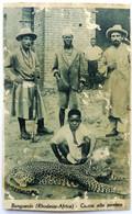 BANGUEOLO (RHODESIA, AFRICA) - Caccia Alla Pantera (qualche Parte Rovinata) - Zimbabwe
