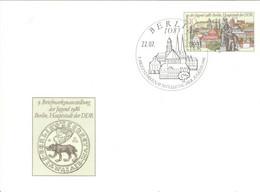 DDR Ganzsache P94 O Sonderstempel Berlin - Postkarten - Gebraucht