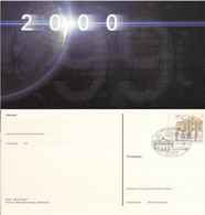 BRD Ganzsache PSo 59/03 O - Postkarten - Gebraucht