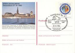 BRD Ganzsache PSo 9 O - Postkarten - Gebraucht