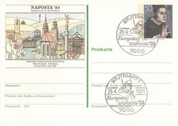 BRD Ganzsache PSo 6 Sonderstempel - Postkarten - Gebraucht