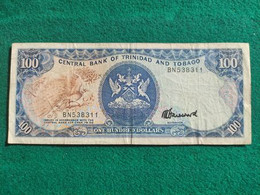 Trinidad Tobago 100 Dollars 1985 - Trinidad & Tobago
