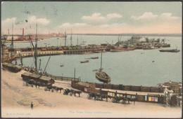 The Town Quay, Southampton, Hampshire, 1909 - FGO Stuart Postcard - Southampton