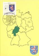 BRD 1716 Maximumkarte - Cartes-Maximum (CM)