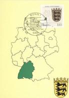 BRD 1586 Maximumkarte - Cartes-Maximum (CM)