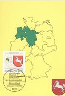 BRD 1662 Maximumkarte - Cartes-Maximum (CM)
