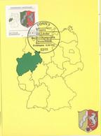 BRD 1663 Maximumkarte - Cartes-Maximum (CM)