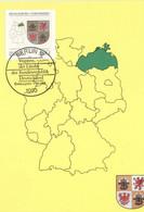 BRD 1661 Maximumkarte - Cartes-Maximum (CM)